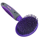 Hertzko Soft Pet Brush by For Dogs and Cats with Long or Short Hair - Great for Detangling and Removing Loose Undercoat or Shed Fur - Ideal for Everyday Brushing & for Sensitive Skin