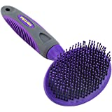 Hertzko Soft Pet Brush by for Dogs and Cats with Long or Short Hair – Great for Detangling and Removing Loose Undercoat or Shed Fur – Ideal for Everyday Brushing & for Sensitive Skin