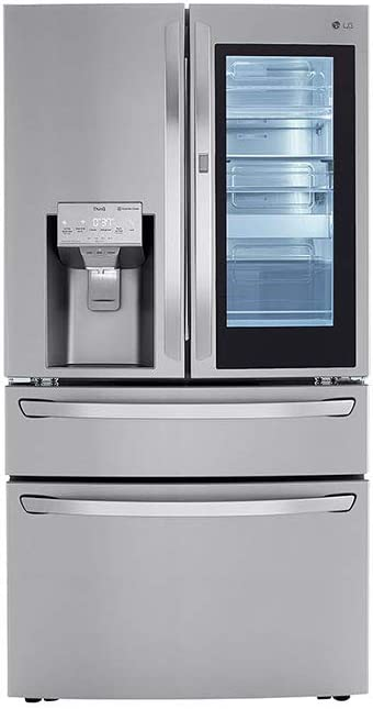 LG LRMVC2306S 23 Cu.Ft. Stainless French Door Smart Refrigerator
