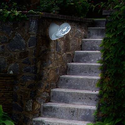 Trademark 82-4727 Cordless Outdoor Motion Sensor LED Light