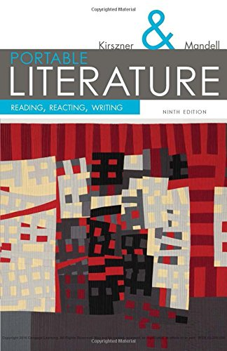 Portable Literature: Reading, Reacting, Writing (The Kirszner/Mandell Literature Series) by Wadsworth Publishing