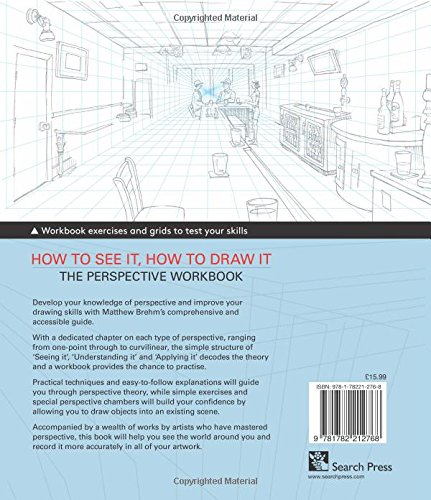 How to See it, How to Draw it: The Perspective Workbook: Unique ...
