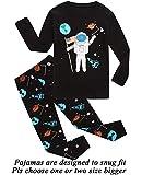 Little Boys Pajamas Space 100% Cotton Long Sleeve Toddler Pjs Toddler Clothes Kids Sleepwear 4t