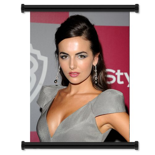 Camilla Belle Sexy HOT Fabric Wall Scroll Poster (32