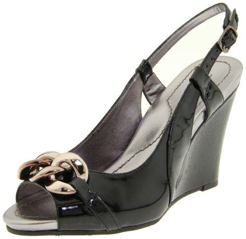 Tignanello Footwear Women's Paz Slingback Pump,Black Patent,10 M (Ornamented Slingback)