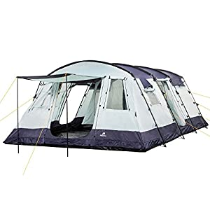 CampFeuer – Spacious Family Tent, 580x410x210 cm, blue