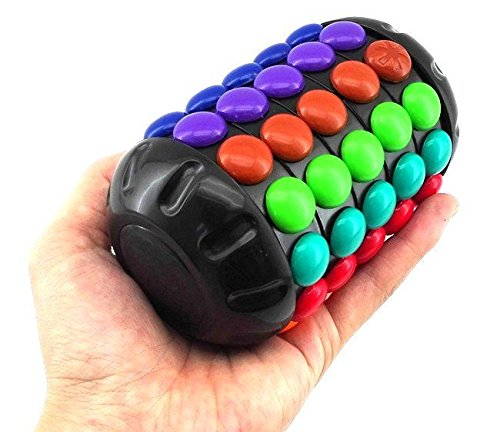 Rainbow Magic rubik's mefferts barrel round capsule magic cube Cryptex 3D puzzle Smart Kids