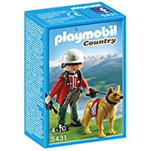 Playmobil Mountain Rescuer with Search Dog