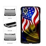 BleuReign(TM) Romania And USA Mixed Flag Plastic Phone Case Back Cover Google Nexus 5 D820