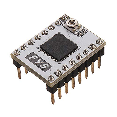 Farwind 4A 50V 3D Printer Stepstick S109 Stepper Motor Driver with Heatsink for 57 Stepper Motor/Pololu Pin by Farwind