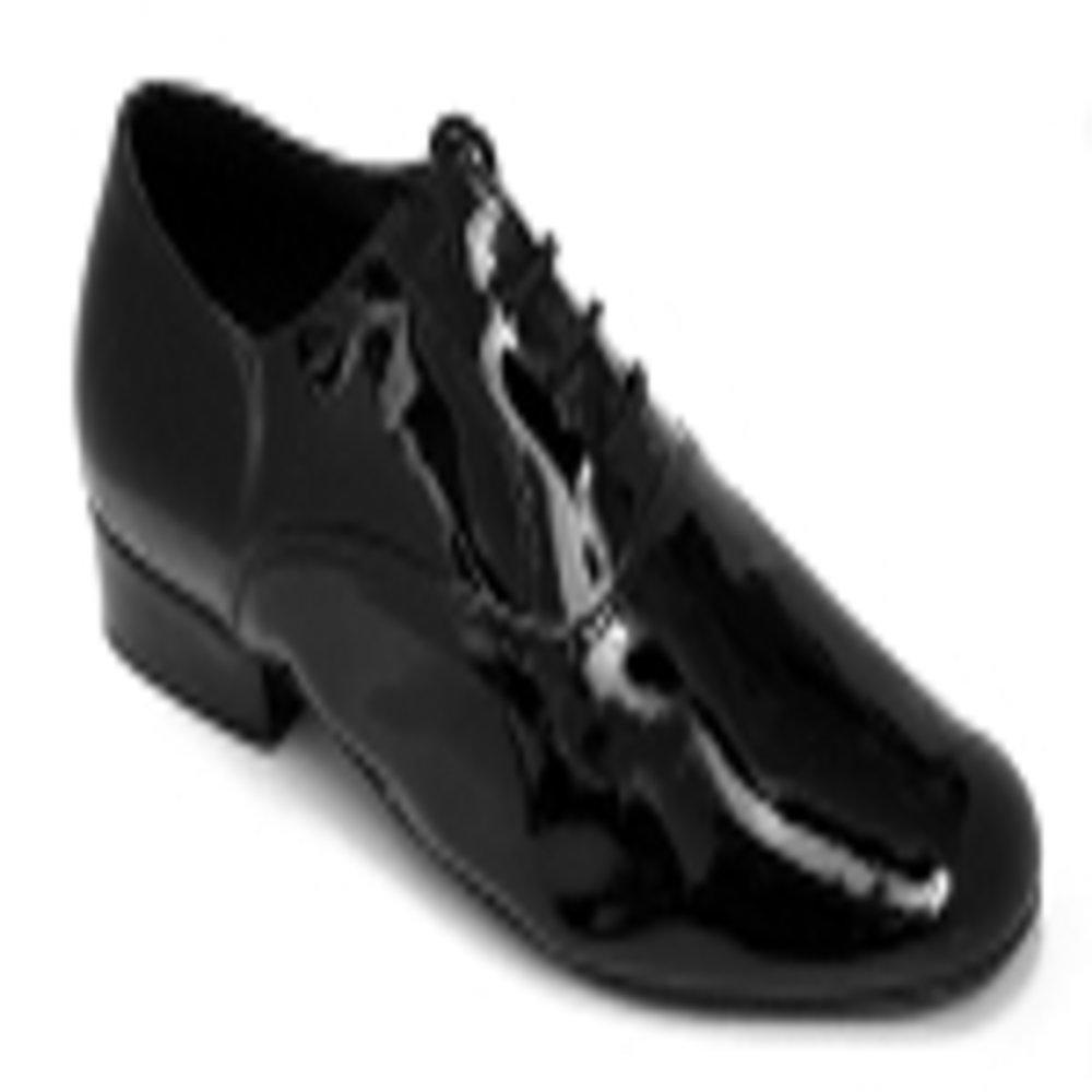 TDA Mens JF250801 Standard Polite Leather Latin Dance Shoes