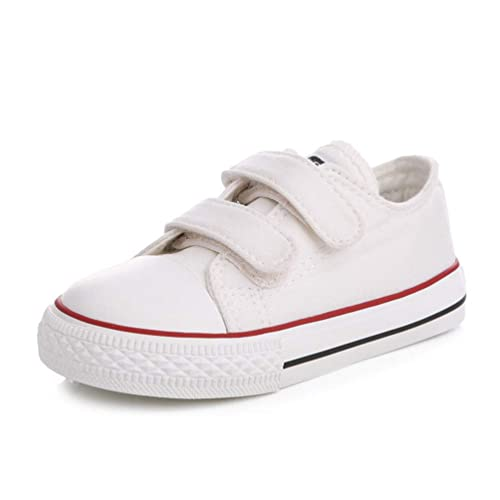89147f8fd77c50 Feidaeu Toddler Shoes Baby for Girl Kids Flat Shoes Children Canvas Shoes  Boys Girls Sneakers White Loafer Shoes: Amazon.co.uk: Shoes & Bags