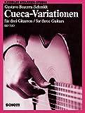 Cover of Cueca-Variationen - Kreidler Guitar Studio - 3 guitares - Partition et parties - ED 7183