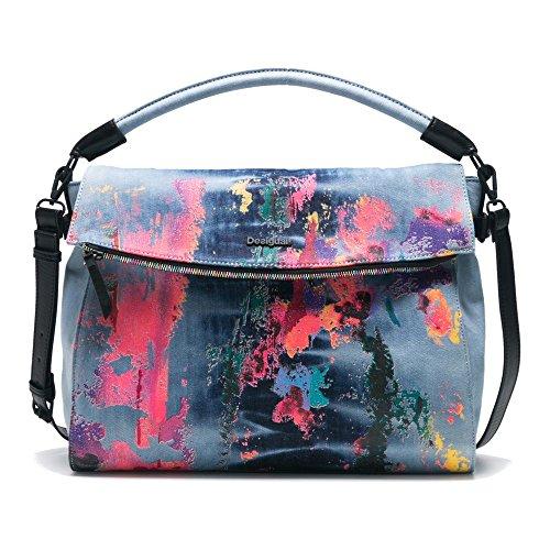 Shoulder Bag Splash Formentera Desigual Jeans 80' xtBqB10