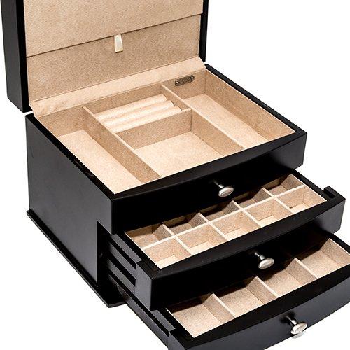Lexington Avenue Men's/Women's Deluxe Jewelry Box