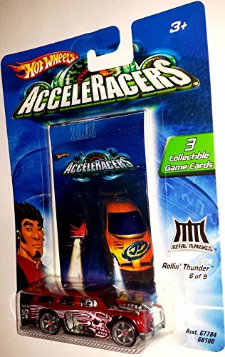 Mattel Hot Wheels AcceleRacers Metal Maniacs #6 of 9 - Ro...