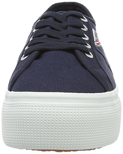 And Eu Down Linea 2790 Femme Superga Baskets Up acotw navy offwhite Blau ZqPIZwcX