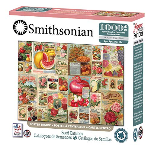 - The Jigsaw Puzzle Factory Smithsonian-Seed Catalogs Jigsaw Puzzle (1000 Piece), Full-Color