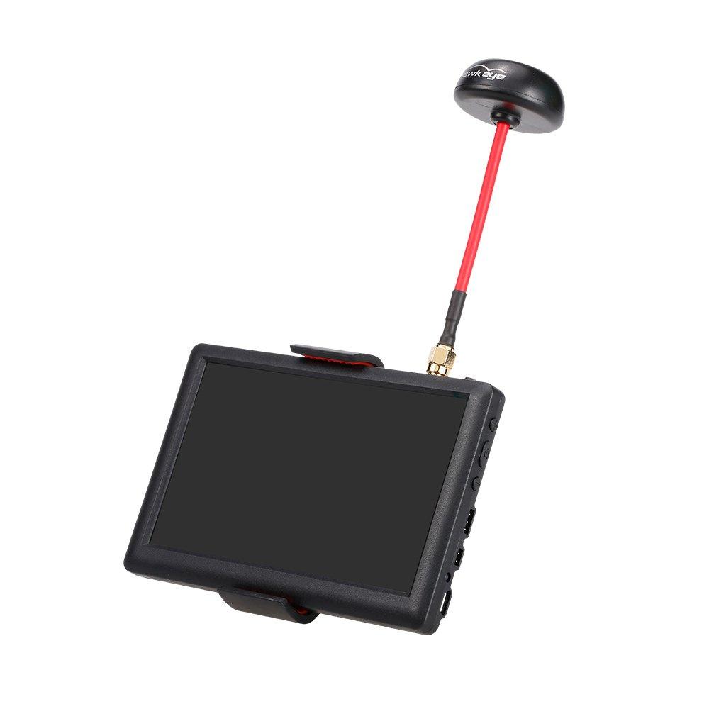 Hawkeye Little Pilot 5 Zoll 40CH FPV Monitor für Racing Drone DIY Quadcopter Luftbildaufnahme