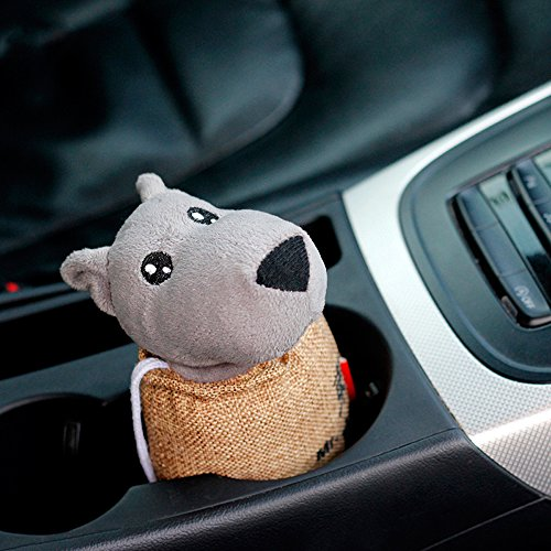 Car Air Freshener Bag Purifying Absorb Odors, Smoke, Pollen and Bad Smell for Home Indoor Outdoor Auto, Natural Car Bamboo Activated Charcoal Bag Air Purifier, Little Wolf
