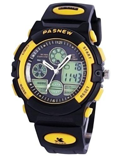 Kids Sports Digital Watch, Boys Girls Outdoor Waterproof Watches Children Analog Quartz Wristwatch (Watch Sports Quartz Digital)