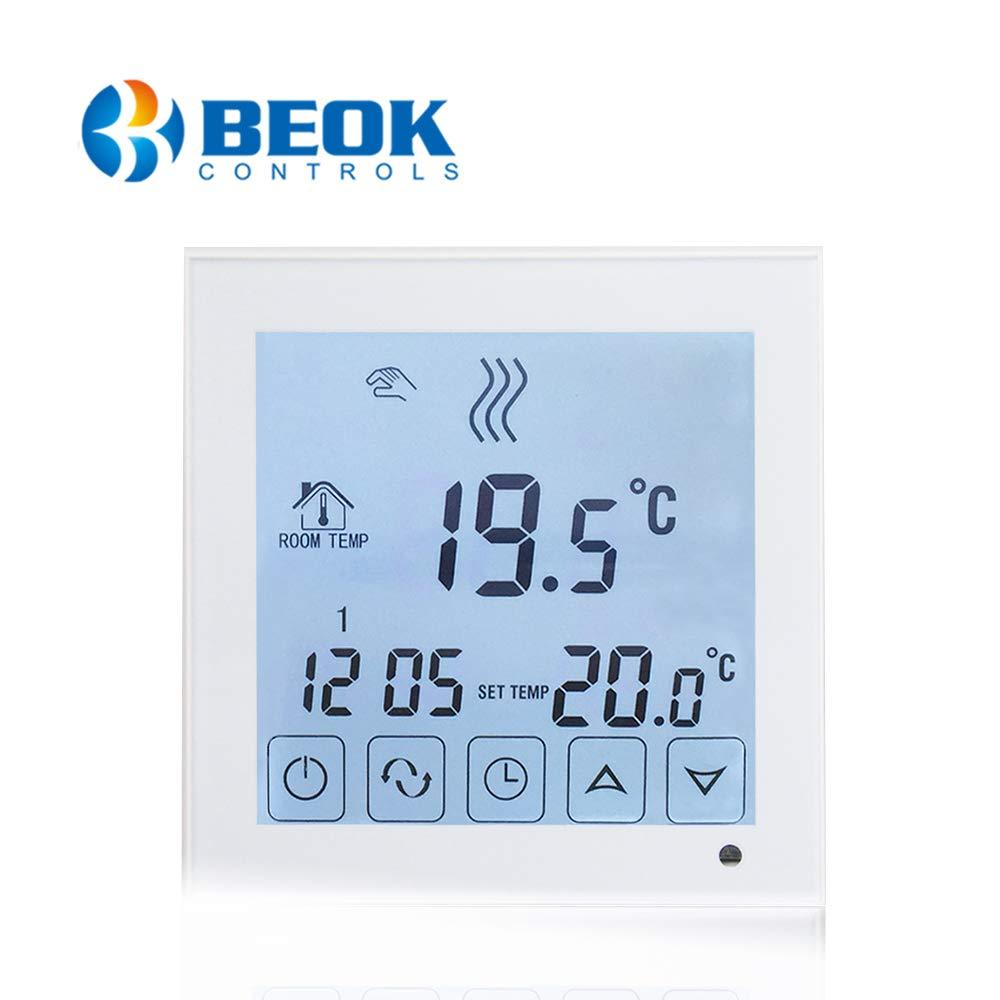 Beok BOT323W Termostato Programable Digital de Calefacción por ...