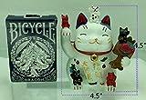Betterdecor Feng Shui Maneki Neko Lucky Cat Coin
