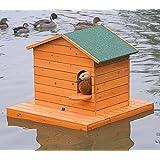 FINCA CASAREJO Caseta para Patos - Nido (Isla Flotante) + caseta para Patos (