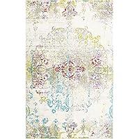 Home Dynamix Boho Makenna 33 x52 Area Rug Ivory/Multi-Colored