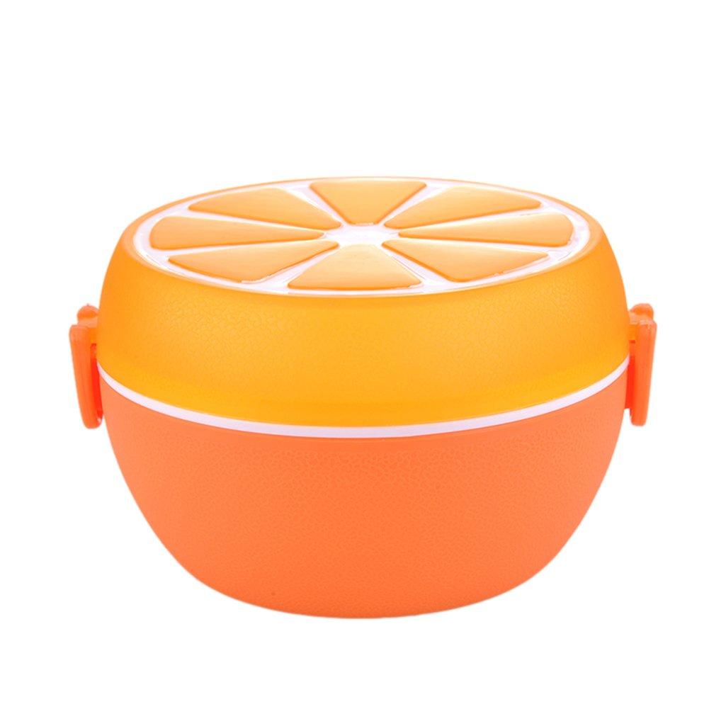 yunt Design di Lemon Scatola a pranzo originale Scatola pranzo a per bambini bambino Giallo arancione