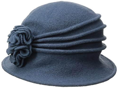 scala-womens-boiled-wool-cloche-with-rosettes-denim-one-size