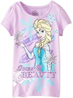 Disney Girls' Beauty Short-Sleeve Tee