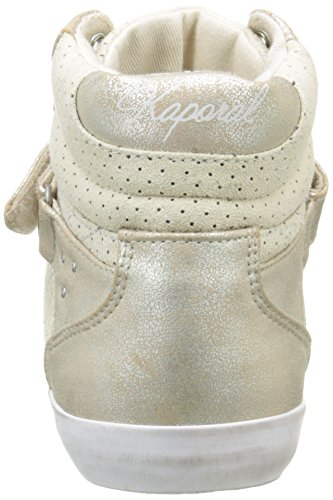 Snatchy Hautes Sneakers Blanc Kaporal Femme O6gwxFZ