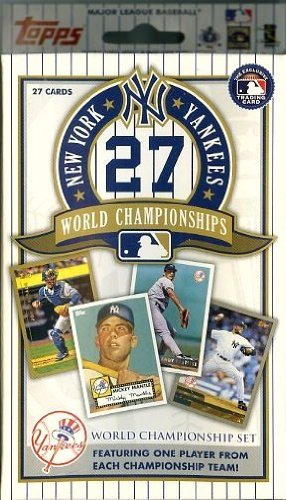 1962 Mickey Mantle (MLB New York Yankees Topps Yankees 27X Champs Set)