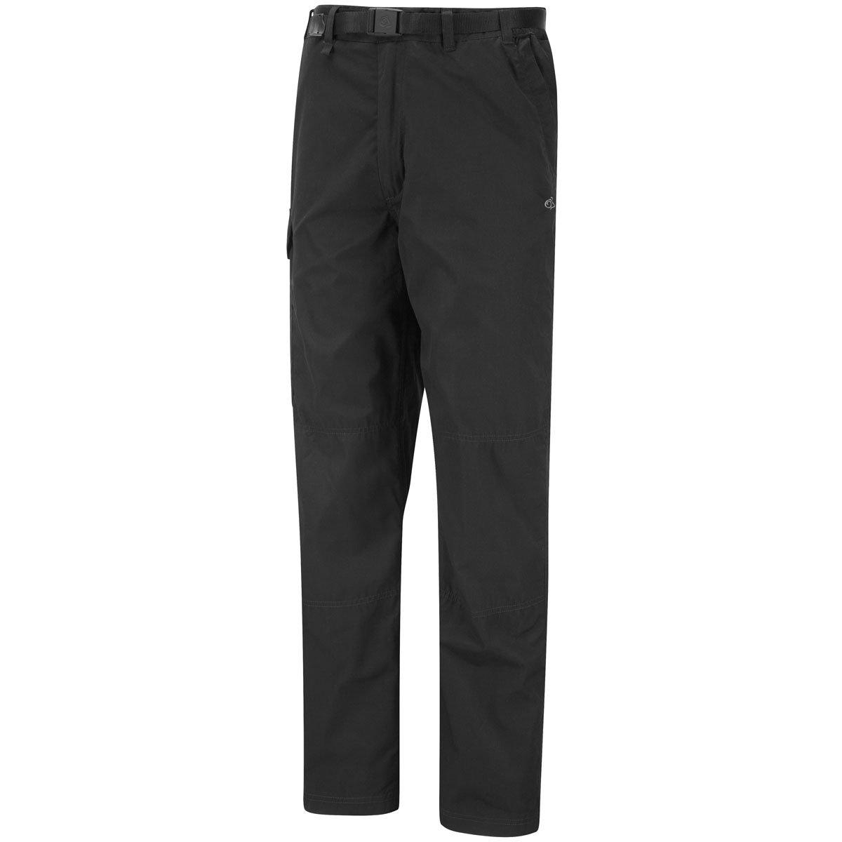 70310e1cde8e Craghoppers Mens Kiwi Walking Hiking Trousers CMJ100 Black  32R