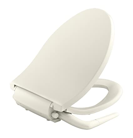 Admirable Kohler K 5724 96 Puretide Elongated Manual Bidet Toilet Seat Biscuit With Quiet Close Lid And Seat Adjustable Spray Pressure And Position Dailytribune Chair Design For Home Dailytribuneorg