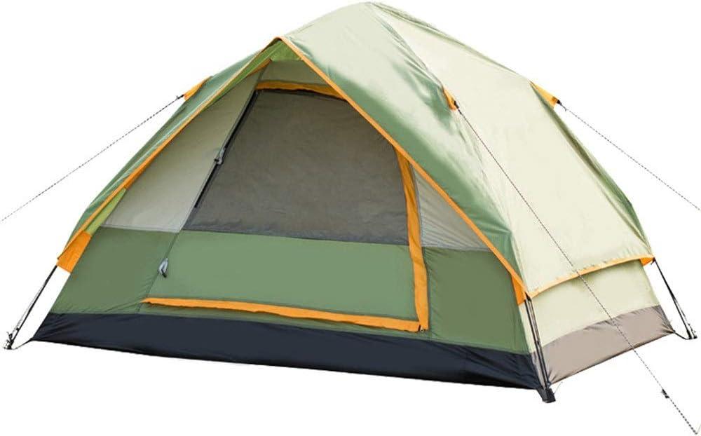 テント ポータブルビーチテントキャンプのバックパックテント防水通気性耐久性に優れた高速ホームアウトドアテント (Color : Blue, Size : 2 people)