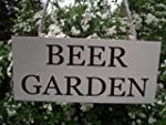 Garden sign - 'BEER GARDEN' for indoo...