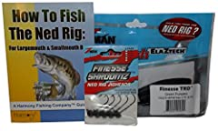 The Ned Rig has recently become one of the hottest baits in bass fishing. It has proven to put fish in the boat all year long, and can trigger bites even when fish aren't cooperating with other lures/techniques. The Ned Rig is an incredibly s...