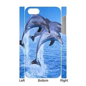 C-Y-F-CASE DIY Dolphin Pattern Phone Case For Iphone 4/4s wangjiang maoyi
