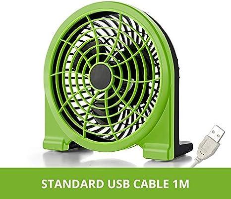 Mini Ventilador USB Creativo de Doble Paleta de Verano, para el ...