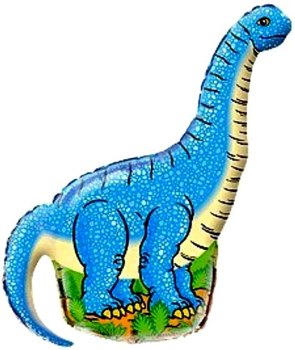 42'' DINOSAUR BALLOON BLUE - Amazing New HOVERING ANTI-GRAVITY TOY - Free Floating, Flying Jurrassic Park Animal Kingdom Birthday Party Favor - Baby Shower Decorations by SPACE PET