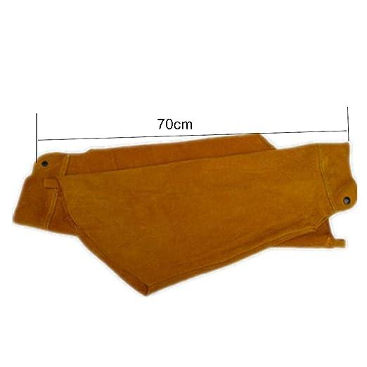 a Prova di Spruzzi Regalo al Lavoratore Sharplace 1 Paio di Durevoli Guaine Protettive Copri-braccia Essere Applicato Nella Saldatura
