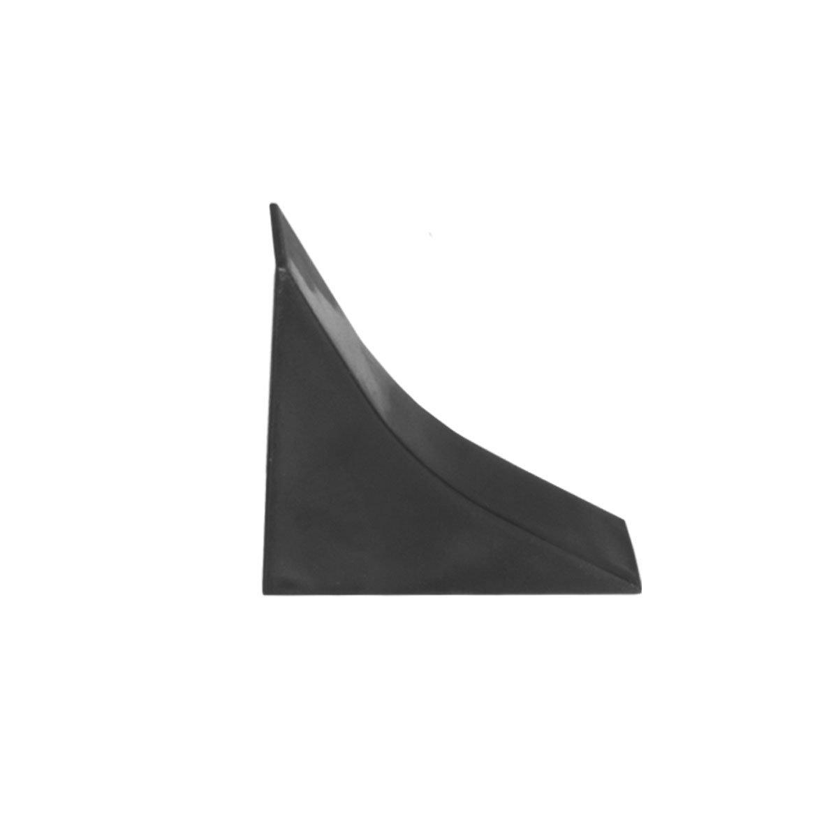 HOLZBRINK Acabado de Copete de Encimera Negro Listón de Acabado PVC Copete de Encimeras de Cocina 23x23 mm: Amazon.es: Bricolaje y herramientas