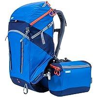 MindShift rotation180deg. Horizon 34L Backpack with Beltpack for DSLR Camera, Lenses, Flashes, 13 Laptop and 10 Tablet, Tahoe Blue