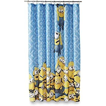Amazon.com: Yellow Submarine Shower Curtain Set by Ambesonne ...