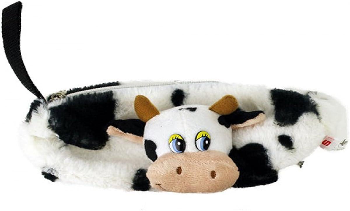 Estuche organizador de pared, diseño de oso de Peluche, diseño de vaca, color negro & blanco: Amazon.es: Joyería