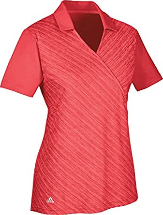 adidas CD4004 Polo de Golf, Mujer, Rojo, XL: Amazon.es: Ropa y ...