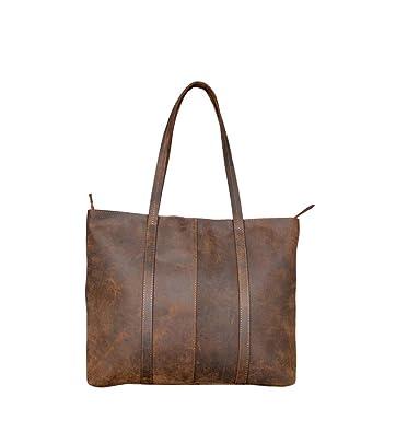 1c5b58748171f Handmade Genuine Leather Brown Color Handbags For Women Rustic Vintage Top  Handle Bags Tote Bags Shoulder