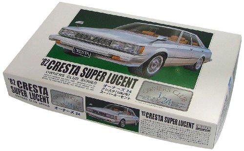 マイクロエース 1/24 オーナーズ24 No.17 `82 トヨタクレスタ スーパールーセントの商品画像